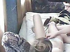 Exotic amateurs clip with secretly watching thin small tits couple scenes