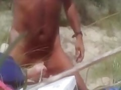 Having sex with the gf in the dunes near the sea