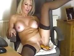sexy old dildo webcam show