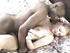 blonde babe goes ebony