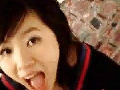 japanese sweety has sweet voice blowing and fucking