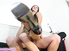 Awesome Anal and squirting cuckold w Mandy Flores