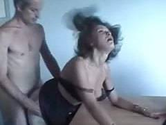 French older married lovers audition on web-cam