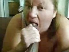 big beautiful woman sucking big dark penis