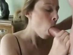amateur wifey bj sperm shot