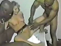 Spouse and her three black bulls amateur movie